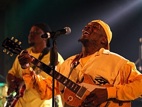 Singer Jimmy Cliff said he was impressed by Switzerland's environmental efforts