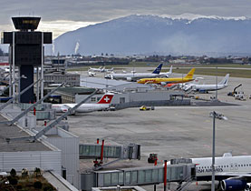 Geneva airport is carrying out major transformation work to cope with soaring numbers of passengers
