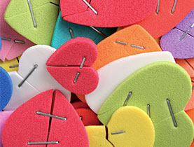 Higher divorce rates mean more hearts need to be mended