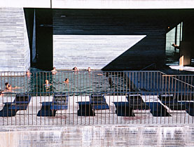 The Vals thermal spa is seen as an authentic design that also attracts visitors