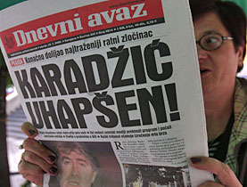People in Bosnia have been following the arrest of Karadzic with more than just a passing interest