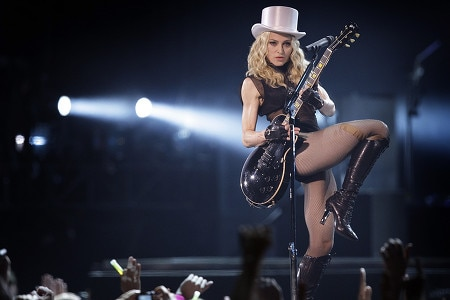 Madonna's list of demands includes a room to house the tour's 3,500 wardrobe items