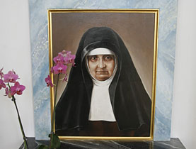 Maria Bernarda Bütler, the first female Swiss saint
