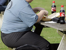 According to the WHO around 400 million people around the world are obese