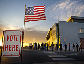 Americans are gearing up to vote in record numbers in Tuesday's elections