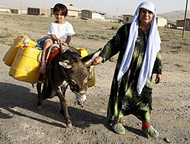 Water is an increasingly scarce resource in Central Asia