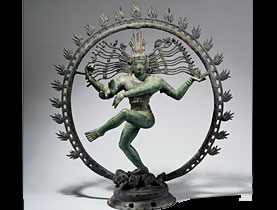 The Rietberg Dancing Shiva is one of the museum's most famous objects