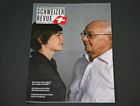 The Swiss Review is the only medium that systematically reaches expatriates