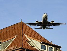 Noise pollution near the Zurich airport is increasing faster than officials had estimated