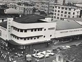 In the 1930s, Freetown was the first city in West Africa to get an air conditioned cinema, thanks to Swiss businessmen