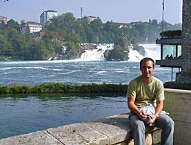 Del Pozo durante una de sus visitas a Zúrich. (swissinfo.ch)