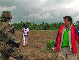 Juan José Lozano es conocido en Suiza por su documental 'Testigo Indeseable', sobre el periodista Hollman Morris.