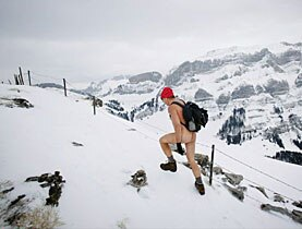 Bum deal: hikers in Appenzell will have to wear more than a woolly hat and boots from now on