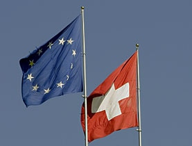 Close but not on the same level: The EU and Switzerland