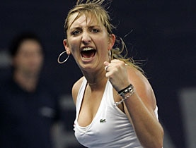 Bacsinszky has come back after suffering a series of injuries