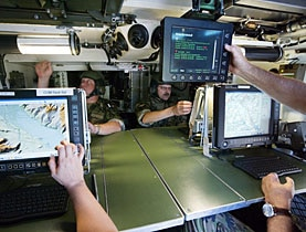 The new system should enable commanders to see all the friendly forces on a battlefield