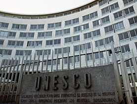 Der Unesco-Sitz in Paris