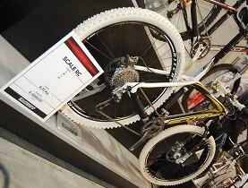 Um dos modelos suíços apresentados no Salão da Bicicleta.