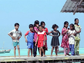 According to the IPCC, owing to global warming children born in the Maldives may be unable to live their whole lives there