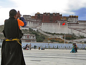 The Dalai Lama left Lhasa in Tibet 50 years ago
