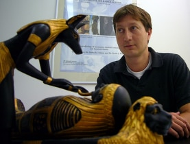 Rühli has been interested in ancient Egypt since childhood