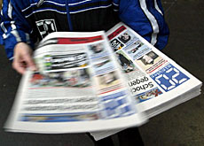 "Free newspaper ""20 Minutes"" is now the most popular paper in Switzerland"