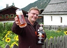 Andreas Aergerter has reached the top of the beer business