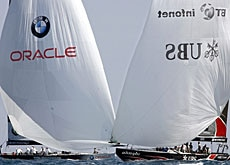 Alinghi and Oracle look as though they're on course for a New York court