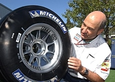 Peter Sauber has to say goodbye to his wheels