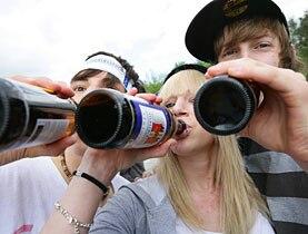Teen alcohol adults june 2008