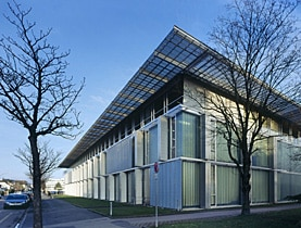 The Vaud vocational training centre was one of the recent projects in Yverdon-les-Bains to attract acclaim