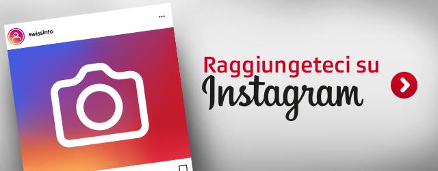 Raggiungeteci su Instagram