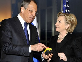 "The ""reset"" button presented by Clinton was slightly off message"