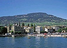 The tranquil lakeside setting of Vevey attracted Greene in his old age (picture: Swiss-image)