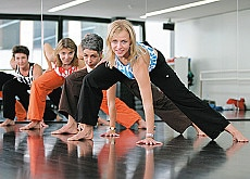 Keeping fit in a Migros club school