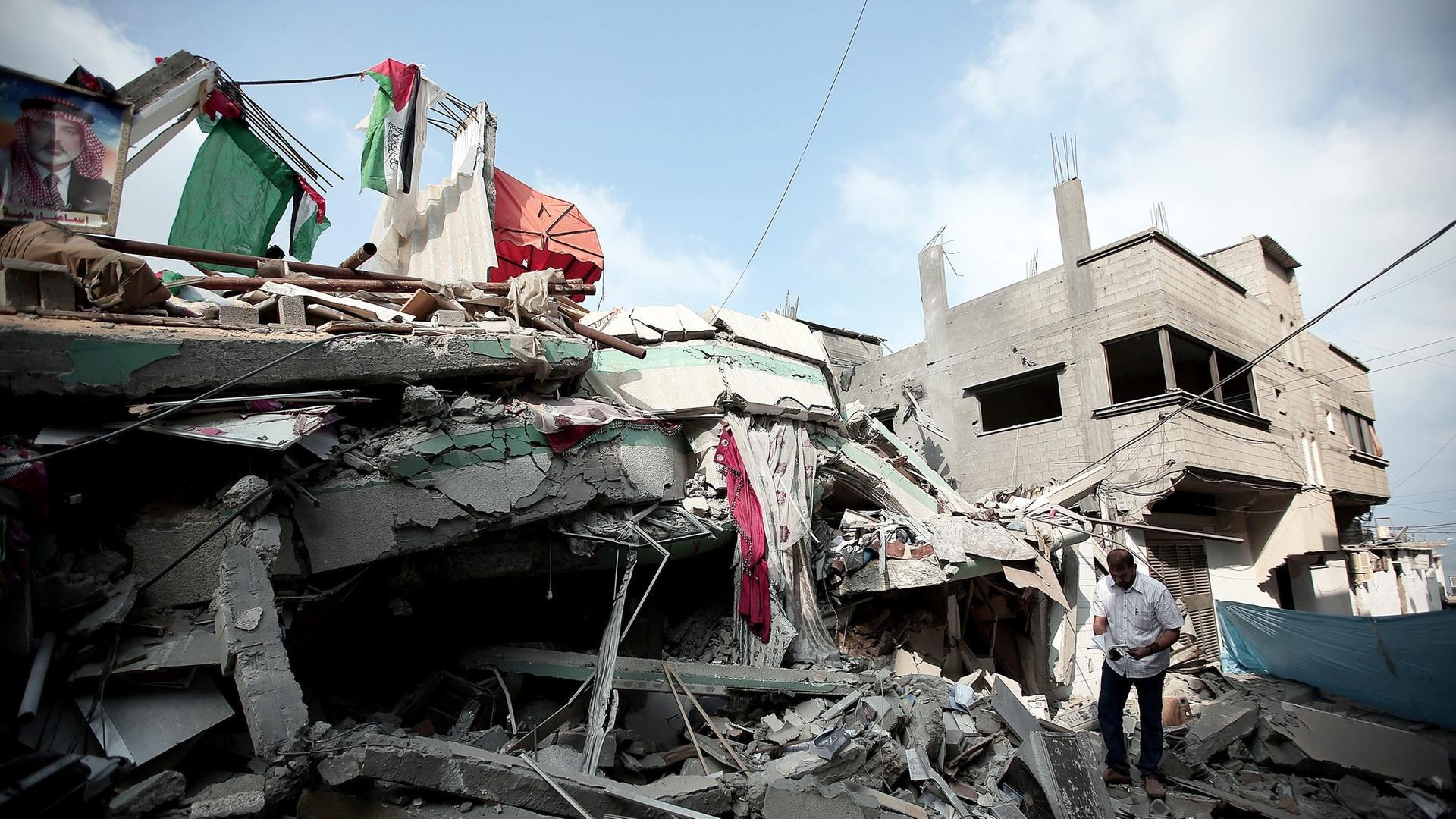 """El sufrimiento de los palestinos se llama ¡OCUPACION!"""" - SWI swissinfo.ch"""
