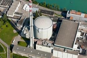 صورة جوية لمحطة موهليبرغ للطاقة النووية
