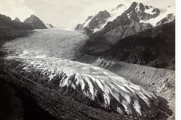Archive picture of Glacier du Trient