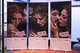 Safe sex ads about partners sexual history