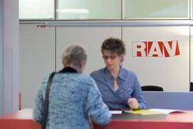 Posto de atendimento do Serviço de Desemprego (RAV)