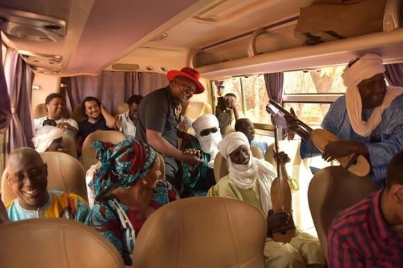 the caravan for peace in Mali