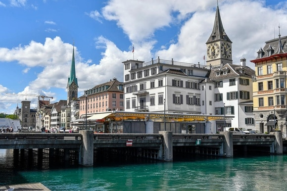 zurich and lake