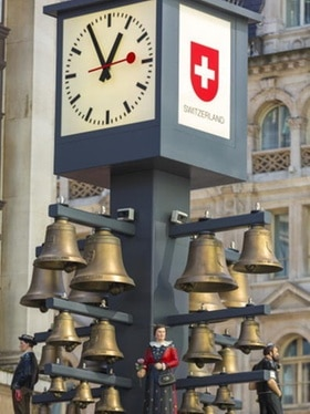 The Swiss clock in London
