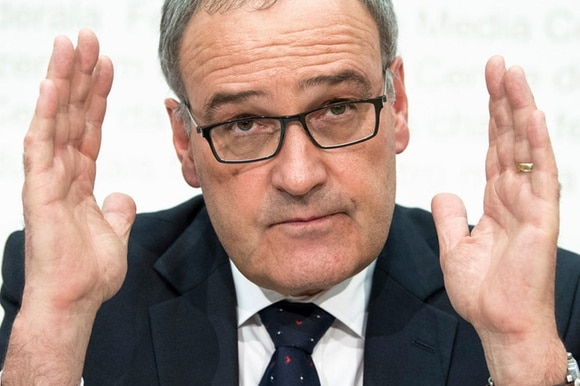 Defence Minister Guy Parmelin