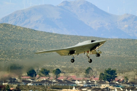 The Northrop GrummanX-47B is a prototype unmanned combat aircraft