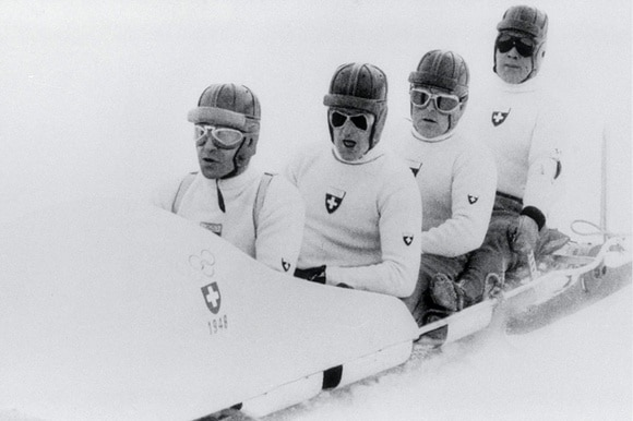 Swiss Bobsleigh team.