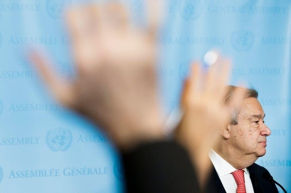 Antonio Gutérres says he wants to reshape the UN's unwieldy bureaucracy and structure