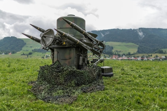 Swiss surface-to-air missiles