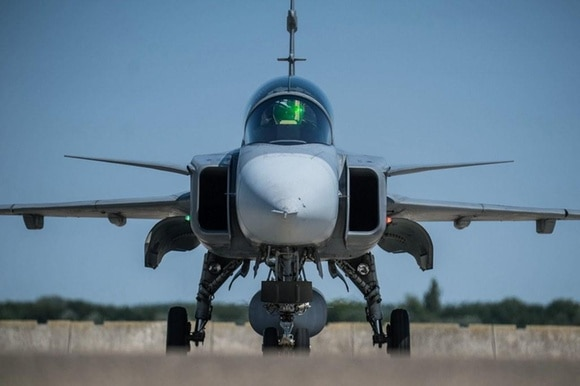 The Swiss people voted against buying 22 JAS-39 Gripen fighter jets in 2014