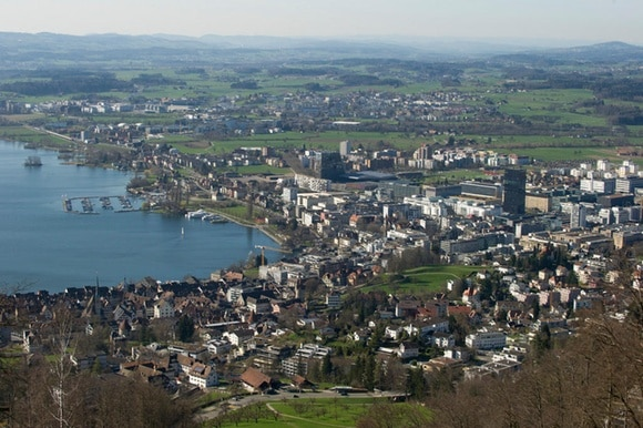 View of Zug